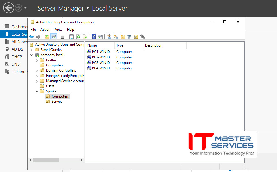 Microsoft Service Serices by IT Master Services